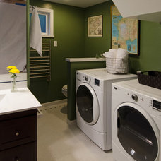 Traditional Laundry Room by Potter Construction Inc