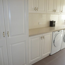 Traditional Laundry Room by kitchens by peter gill