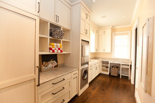 Beach Style Laundry Room by Andrew Roby General Contractors