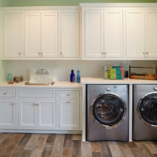 Beach Style Laundry Room Beach Style Laundry Room