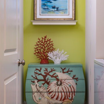 Beachy Laundry Room
