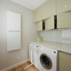 Contemporary Laundry Room by Melbourne Contemporary Kitchens