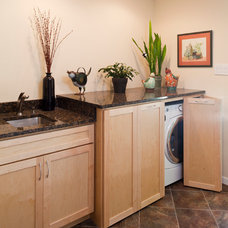 contemporary laundry room by Owings Brothers Contracting