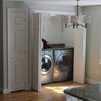 Modern Estate Contemporary Laundry Room New York