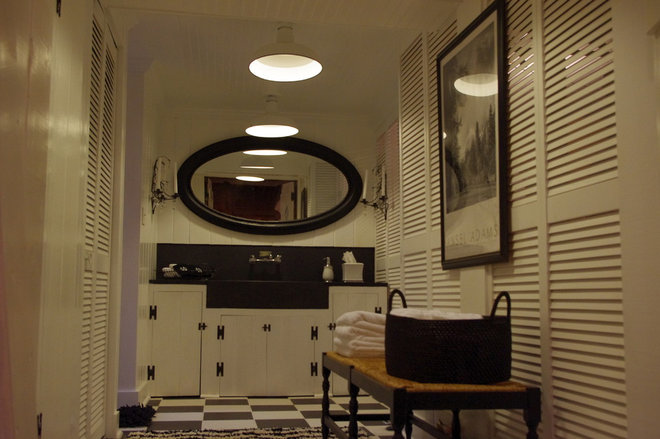 Contemporary Laundry Room by Feather Your Nest Interiors