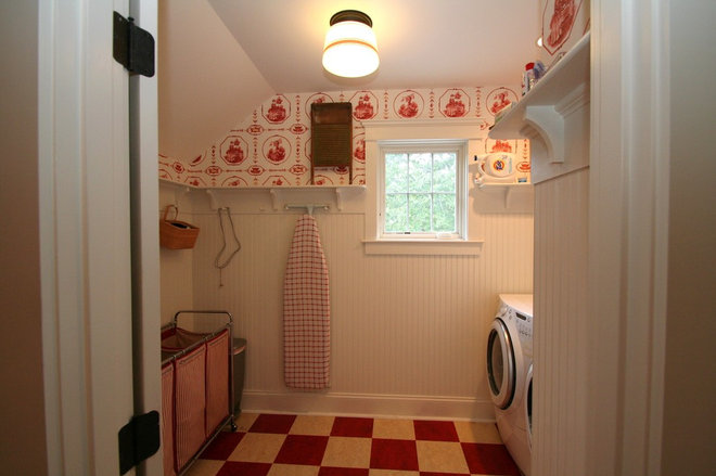 Traditional Laundry Room by JB Robbie Builders Inc.