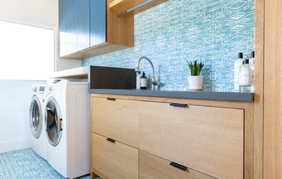 New This Week: 7 Uplifting Laundry Rooms