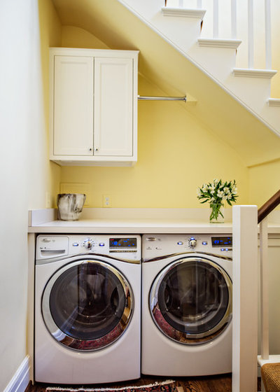 Traditional Laundry Room by Wills Company