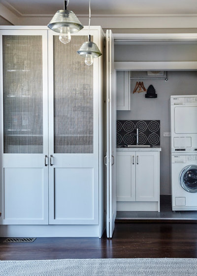 Traditional Laundry Room by Provincial Kitchens