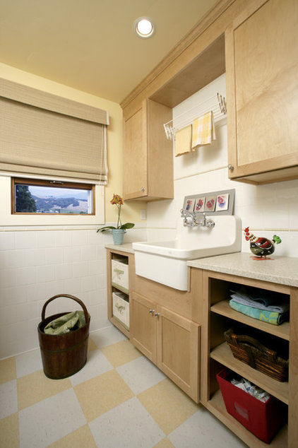 Traditional Laundry Room by Julie Williams Design
