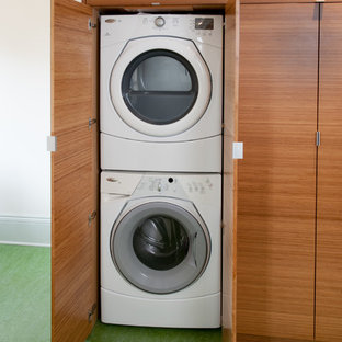 Example of a trendy laundry room design in San Francisco