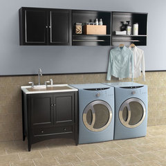 contemporary laundry room Berkshire Laundry Sink Vanity by Foremost