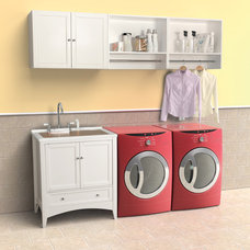 Contemporary Laundry Room by Foremost Groups Inc.- Bath