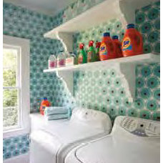 Contemporary Laundry Room by Holly Phillips @ The English Room