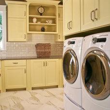 Traditional Laundry Room by Falcon Custom Homes