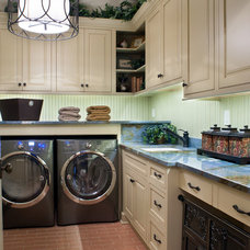 Traditional Laundry Room by BlueStone Construction, LLC
