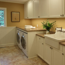 Traditional Laundry Room by Hagstrom Builder