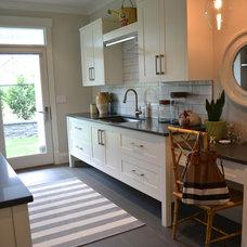 Modern Laundry Room by Richardson Homes Ltd