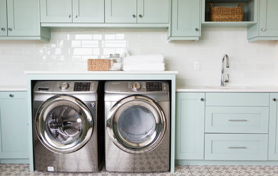 Room of the Day: A Family Gets Crafty in the Laundry Room
