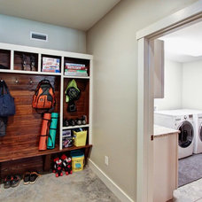 Traditional Laundry Room by ID.ology Interior Design
