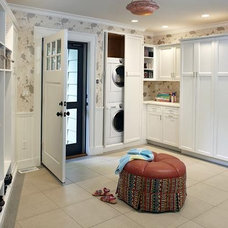 Modern Laundry Room by Macomber Carpentry & Construction