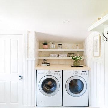 Boston Laundry Room Renovation