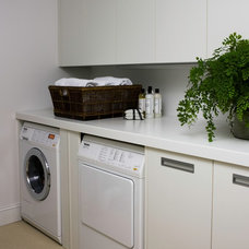 Contemporary Laundry Room by foley&cox