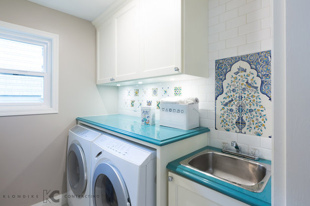 Amazing Traditional Laundry Room by H Design Studio