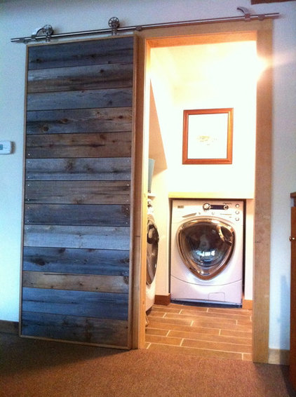 Contemporary Laundry Room by Maple Valley Design Build, Inc.
