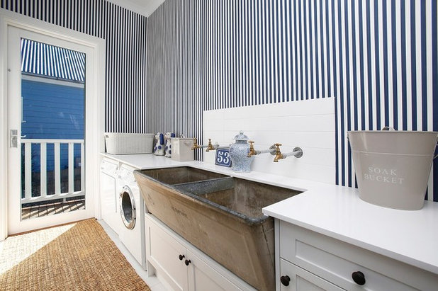 Country Laundry Room by KELA Building Group Pty Ltd