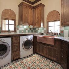 Traditional Laundry Room by Joe Kain Homes