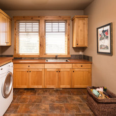 Rustic Laundry Room by Western Design International