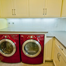 Traditional Laundry Room by Structure Home