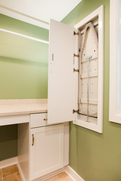 Contemporary Laundry Room by Case Design & Remodeling Indy