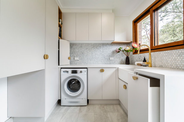 Contemporary Laundry Room by GDP Interior Design