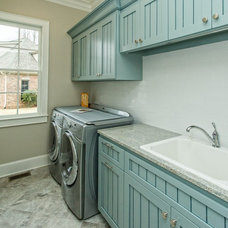 Traditional Laundry Room by Design Elite