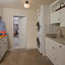 Traditional Laundry Room by Eskandari Stone