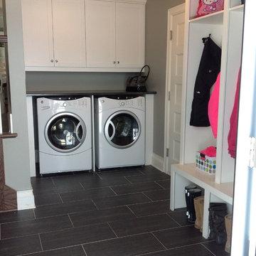 Brossard Mudroom and Laundry