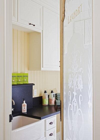 Traditional Laundry Room by Brownhouse Design, Los Altos, CA
