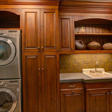 Traditional Laundry Room by Brownhouse