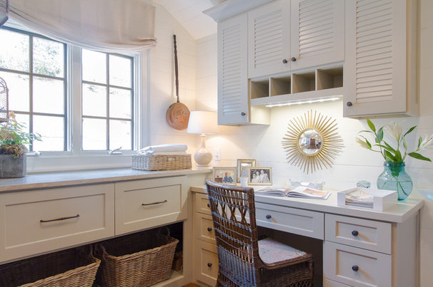Traditional Laundry Room by Jessica Bradley Interiors