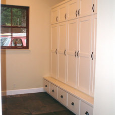 Traditional Laundry Room by Steven W. Johnson Construction, Inc.