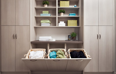 The Hardworking Laundry: Make Room for Hampers and Baskets