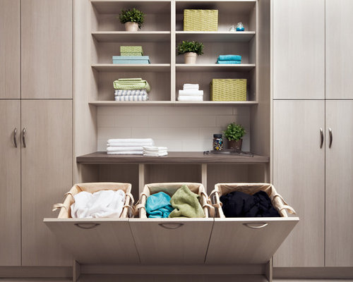 Built-In Laundry Hamper Home Design Ideas, Pictures ...
