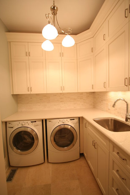 Laundry Room by Interior Works Inc