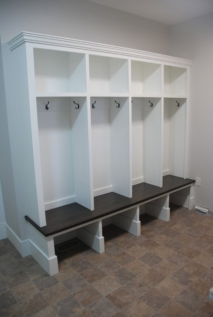 Traditional Laundry Room by Out Of Line Designs
