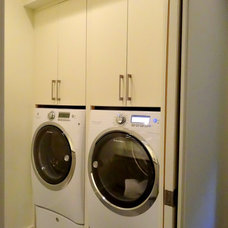 Traditional Laundry Room by High Country Cabinets of Banner Elk
