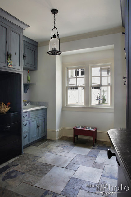 Eclectic Laundry Room by Keystone Millworks Inc