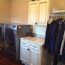 Traditional Laundry Room by Knoxville's Stone Interiors