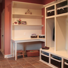 Traditional Laundry Room by Seven Trees Woodworking LLC